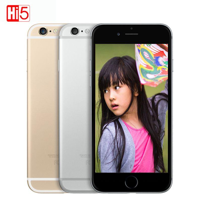 Déverrouillé Apple iphone 6 LTE 4G smartphone Dual Core 16G/64G/128G ROM 4.7