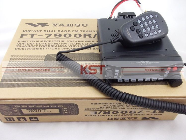 YAESU FT-7900R 50 Watt HIGH POWER Dual Band FM Transceiver 2 Meter 70 cmMobile Amateurfunk