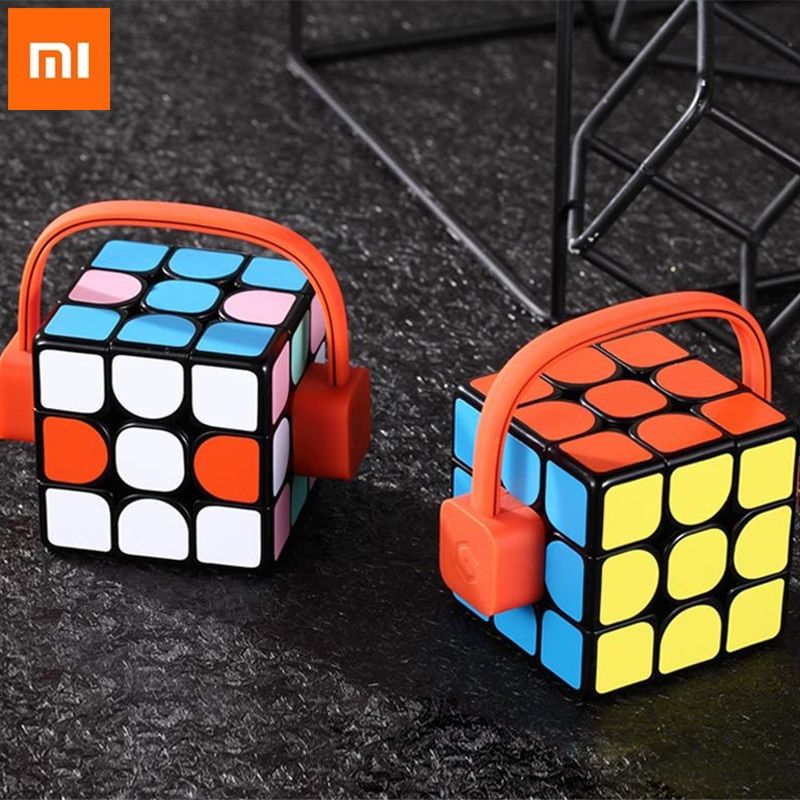 Xiaomi mijia Giiker super smart cube App remote comntrol Professional Magic Cube Puzzles Colorful Educational Toys For man H0#0