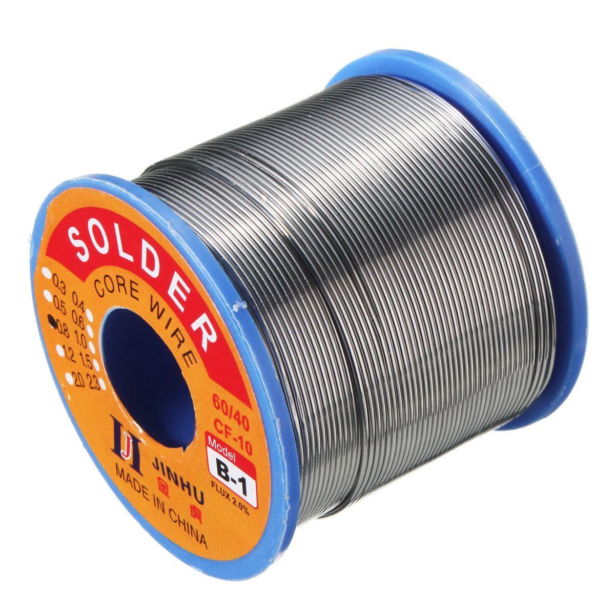 0.5/0.7/1mm 60/40 FLUX 2.0% 500g Tin Plomb À Souder Fil Melt Rosin base À Souder À Souder rouleau de fil