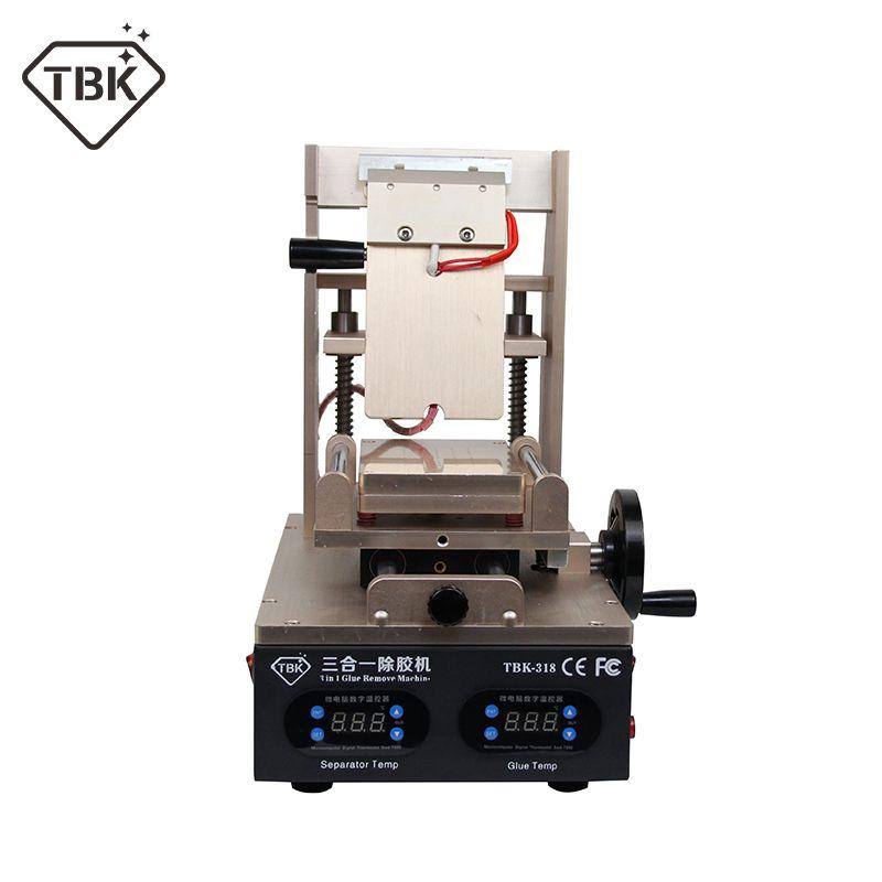 NEUE TBK-318 3 in 1 Vakuum LCD Screen Separator + Vorwärmer + OCA Kleber Polarisator Entferner Handy LCD Bildschirm renovieren Maschine