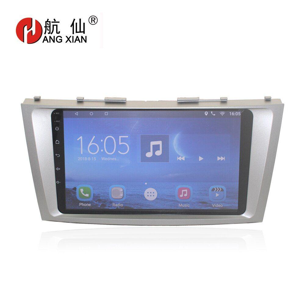 Bway Quadcore Android 7.0 car Radio for Toyota Camry AURION V40 2006 2007 2008 2009 2010 2011 Car DVD Player with 1G RAM,16G ROM