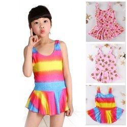 Gadis Anak Swimsuit Swimwear Gadis Mandi Swimwear Pantai Tankinis Bikini Set Biquini Infantil