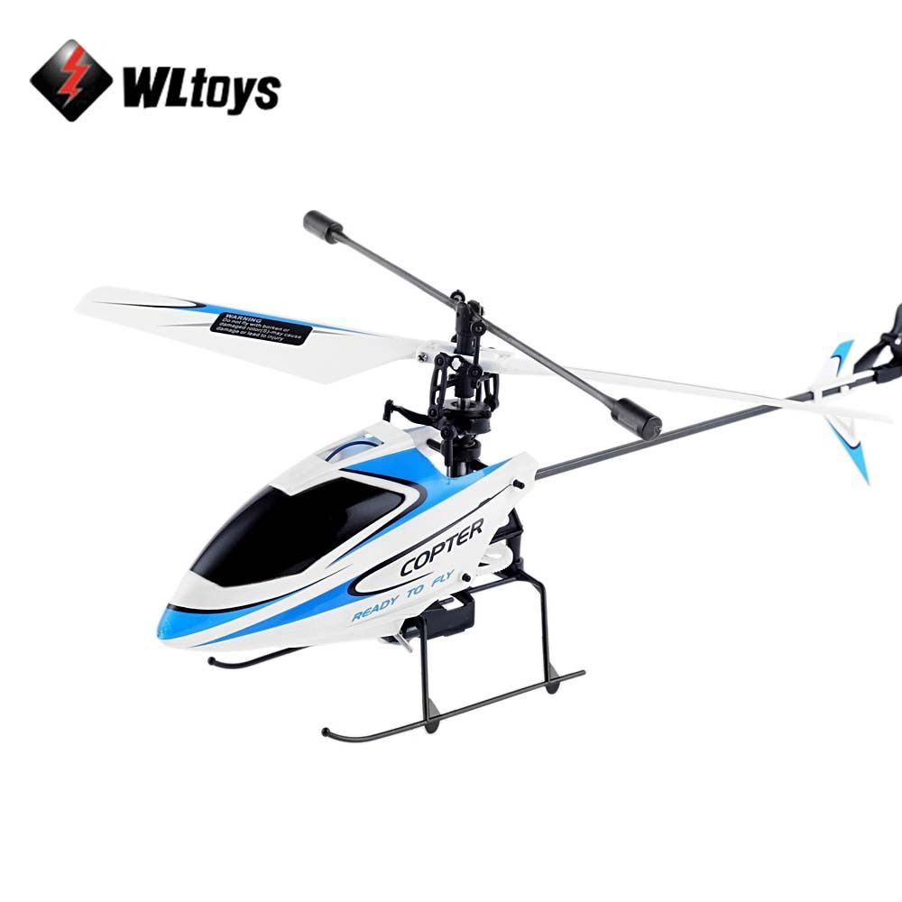 Original WLtoys V911 RC Helicopter 2.4G 4CH Drone Toy Remote Control Drones Flying Toy Helicoptero Aircraft Kid Drone Dron Gifts