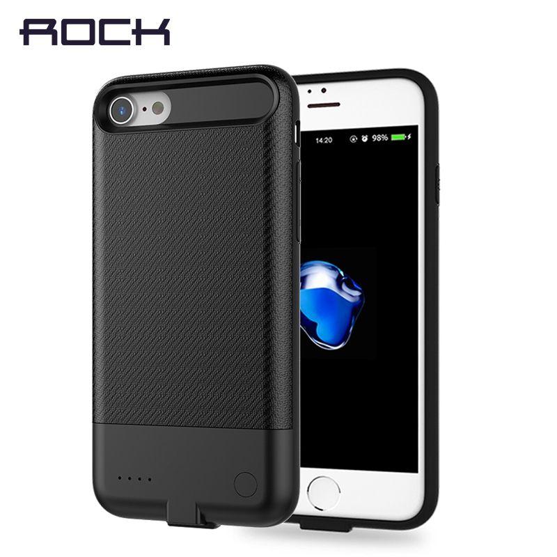 Power Case pour iPhone 7 7 plus, ROCK Affaire de La Banque D'alimentation Pour iPhone 7 7 plus 2500/3650 mah Mince Lumière Batterie Cas Powerbank