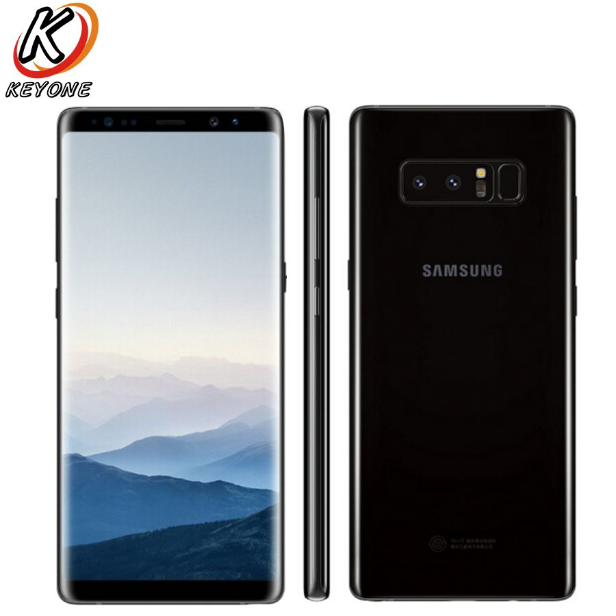 New Original Samsung GALAXY Note 8 N9500 4G LTE Mobile Phone 6GB RAM 128GB ROM 6.3