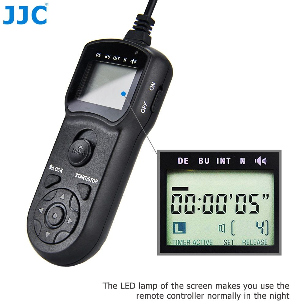 JJC Multi-Function Wired Timer Remote Control Shutter Release Cord for Sigma DP0/ DP1/ DP2 / DP3 Quattro Replace CR-31