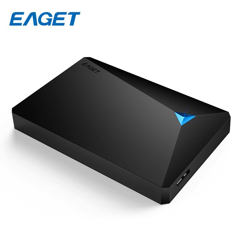 EAGET USB 3.0 Externe Festplatte 500 GB HDD 2,5 Lagerung Festplatte 2 TB 1 TB High-Speed Stoßfest Desktop HDD PC Laptop Mobile