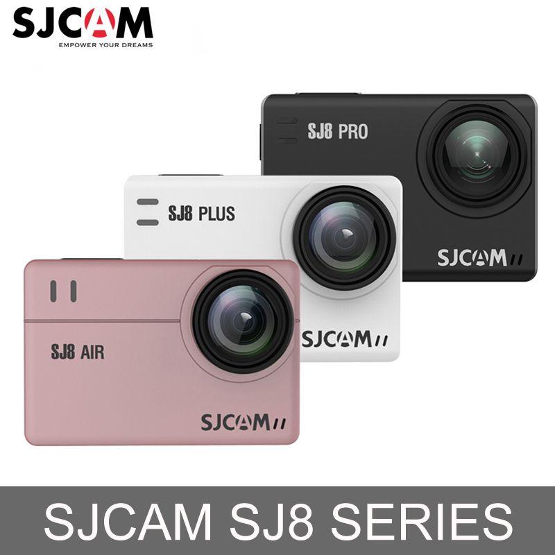 In Stock! SJCAM SJ8 Air/SJ8 Plus/SJ8 Pro 1290P 4K Action Camera WiFi Remote Control Waterproof Sport DV Mini Ambarella H2 Camera