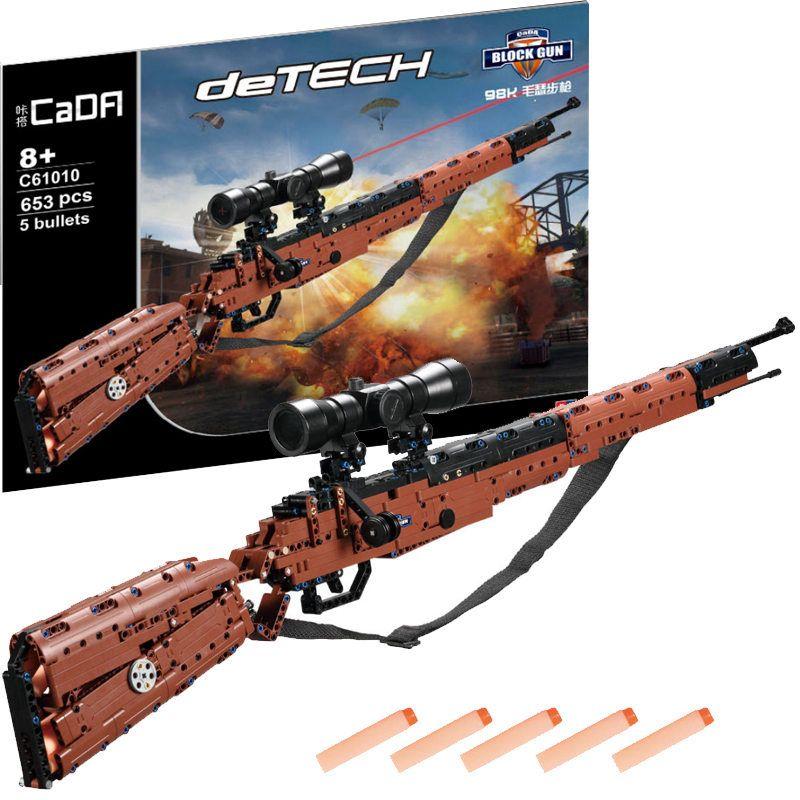 Pistolet Revolver pistolet de puissance SWAT armée militaire modèle blocs de construction jeu de briques arme Compatible PUBG jouets pour garçons