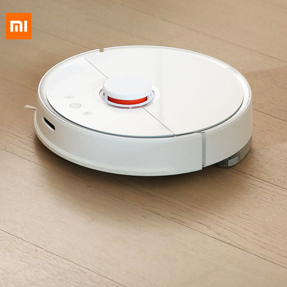 [Global Version] Xiaomi Vacuum Cleaner 2 Robot For Home Automatic Cleaning 2000pa Suction 2 In 1 Sweeping Mopping Remote Control