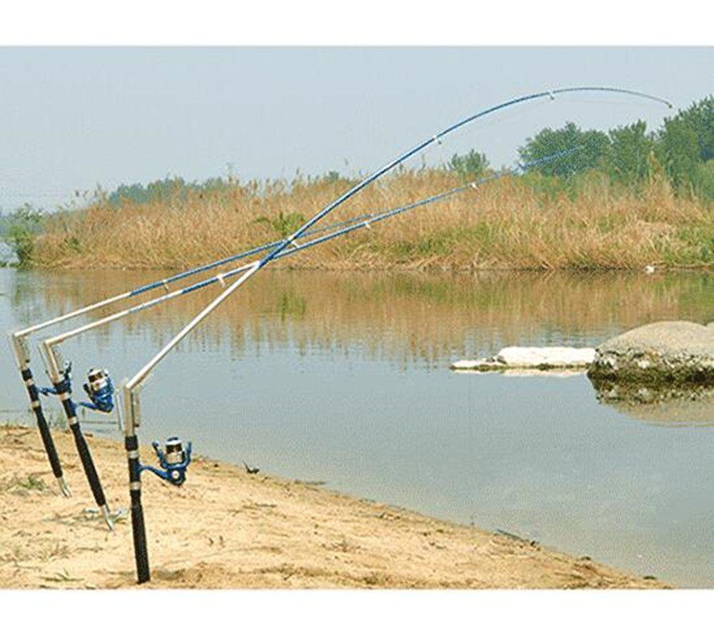 1,8/2,1/2,4/2,7 Mt Automatische Angelrute Sea River Lake Edelstahl Automatische Angelrute Fisch Pole