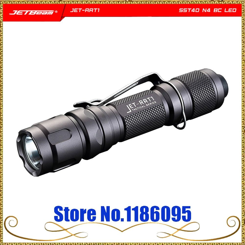 JET-RRT1 RRT1 Linterna Táctica Impermeable SST40 N4 BC 950LM 4 Puestos de Aleación De Aluminio Táctico de Respuesta Rápida de Luz LED Antorcha