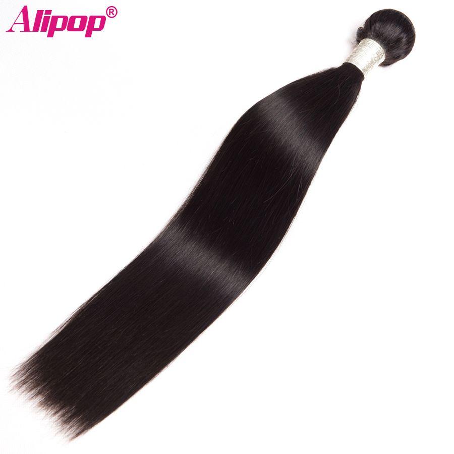 Brésilienne Cheveux Raides Weave Bundles Remy de Cheveux Humains Bundles 10