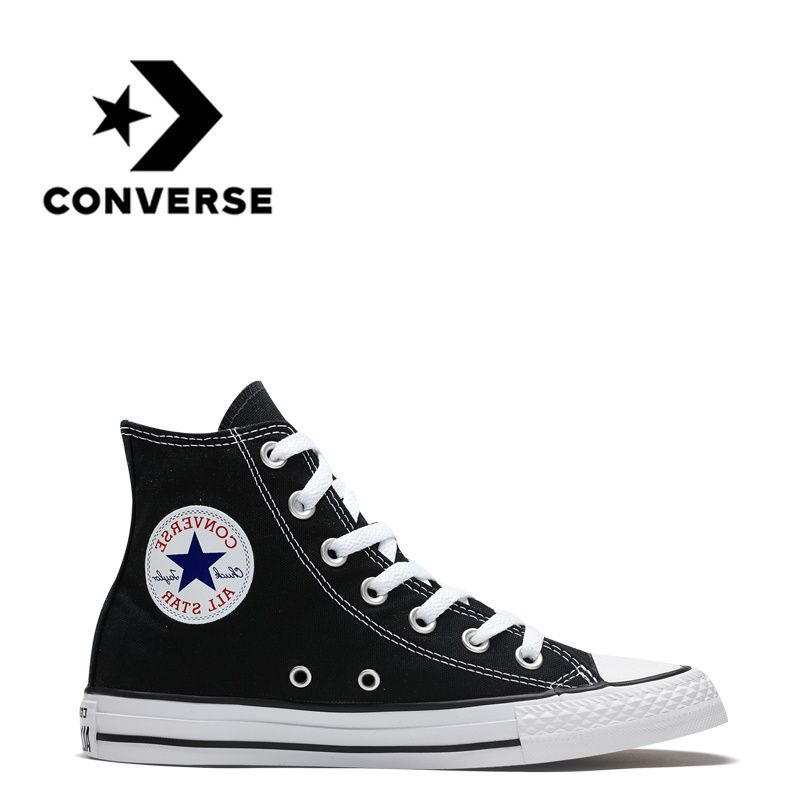 Official Authentic Converse All-star Classic Men and Women Skateboard Shoes Original Canvas High To Help Sports Outdoor Shoes