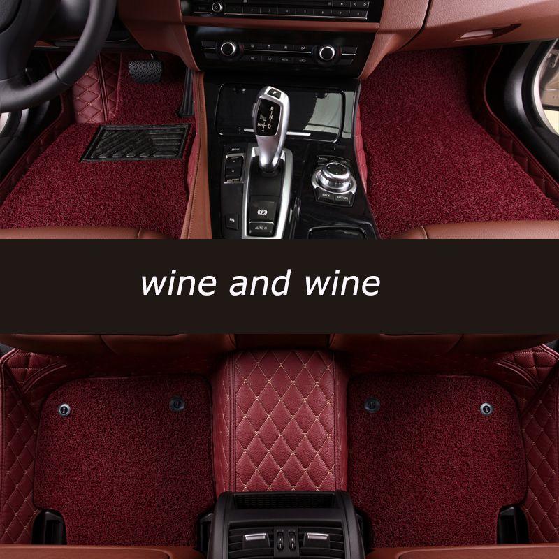 Kalaisike alfombras personalizadas para Porsche todos los modelos Cayman Cayenne Macan Panamera Boxster 718 coche styling Accesorios
