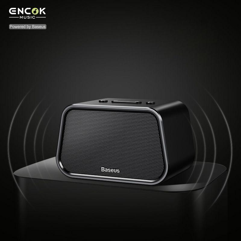 BASEUS v4.2 Mini Bluetooth Динамик для телефона Ноутбук Портативный Беспроводной Динамик карты памяти Aux-в аудио USB музыкальный плеер pc Динамик