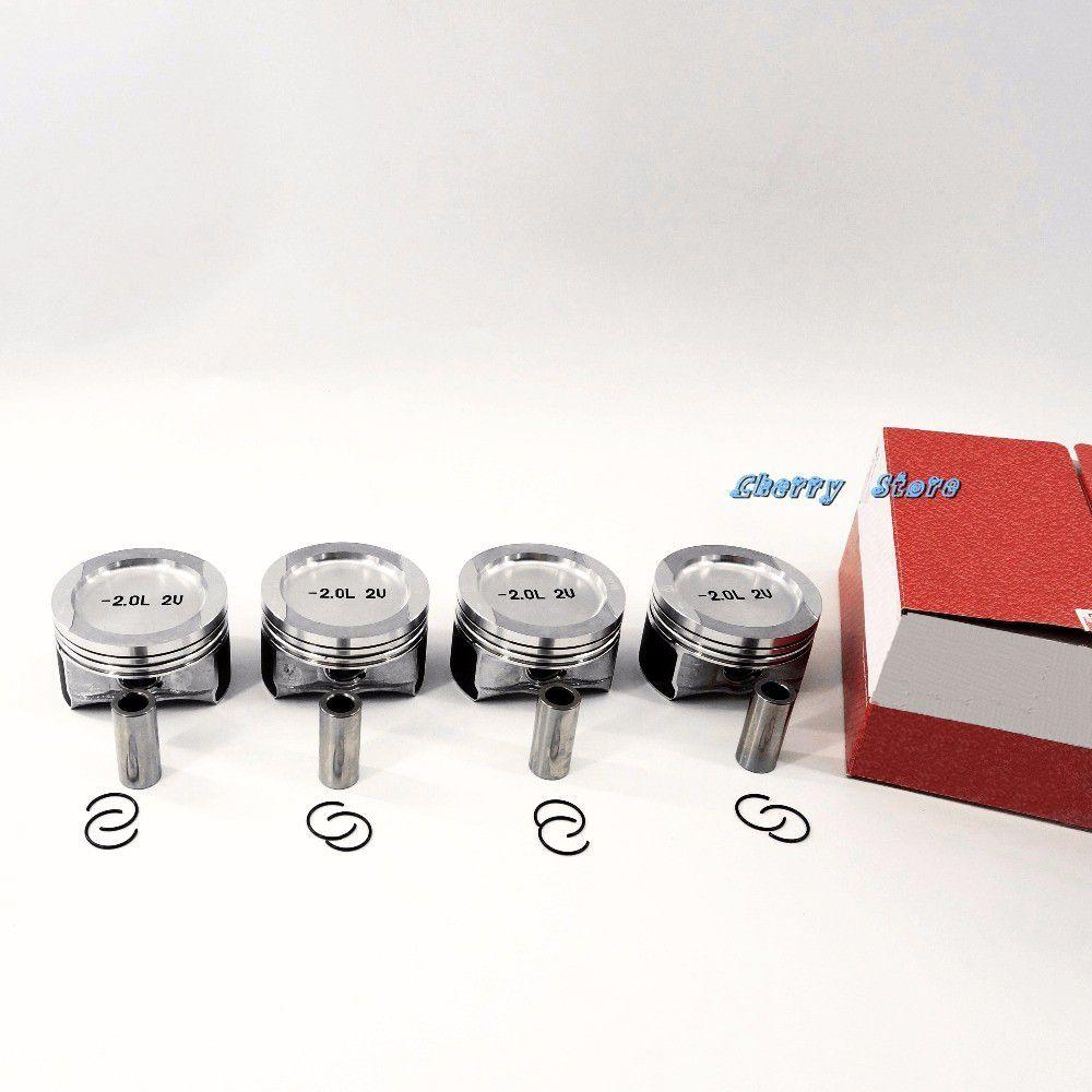 NEW 06B 107 065 B STD Piston 82.51 mm Piston Bolt 19 mm For VW Jetta Bora Golf MK4 Passat Beetle 2.0 85KW 0309200 030 92 00