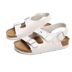 Sandales Enfant Chaussures Pour Enfants Sandales Filles Et Garçons Sandales Respirant Appartements Chaussures D'été Confortable en cuir sandale