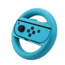 Gasky for Nintendo Switch - Joy-Con Wheel Handles Controller Steering Racing Wheel Bracket (1Red + 1Blue)