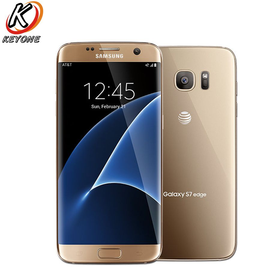 Original-AT & T Version Samsung Galaxy S7 Rand G935A LTE Handy 5,5 Quad Core 4 gb RAM 32 gb ROM 12MP Android Smart Telefon