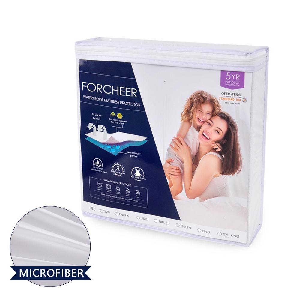 160x200cm Anti-acariens lit matelas Protection Pad lisse imperméable matelas protecteur couverture pour lit humide respirant hypoallergénique