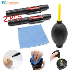 3/4in1 Camera Cleaning Kit Suit Dust Cleaner Lens Brush Air Blower Wipes Clean Cloth kit for Gopro Canon Nikon Camcorder VCR