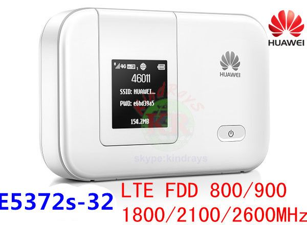 Débloqué HUAWEI E5372 E5372s-32 4G LTE poche wifi 3g routeur de poche Mobile mifi dongle Hotspot routeur 4g fente pour carte sim