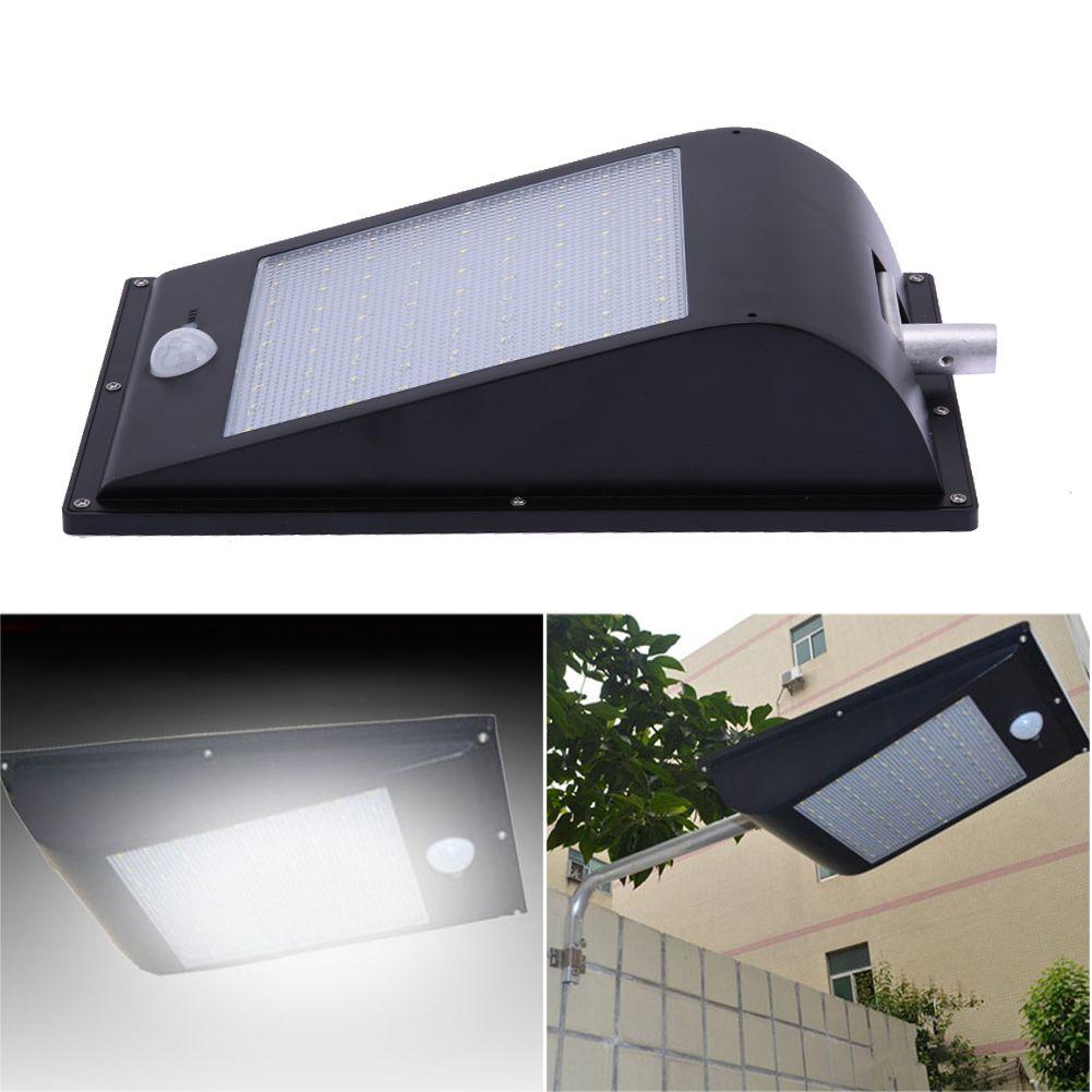 81LEDs SMD2835 LED IP65 Waterproof PIR Motion Sensor Solar Power Outdoor Garden Street Security Solar Lamp White Light