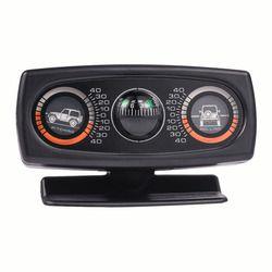 Dekorasi Dekorasi Mobil Aksesoris Kecenderungan Alat Tingkat Inclinometer Kompas Instrumen Gelombang