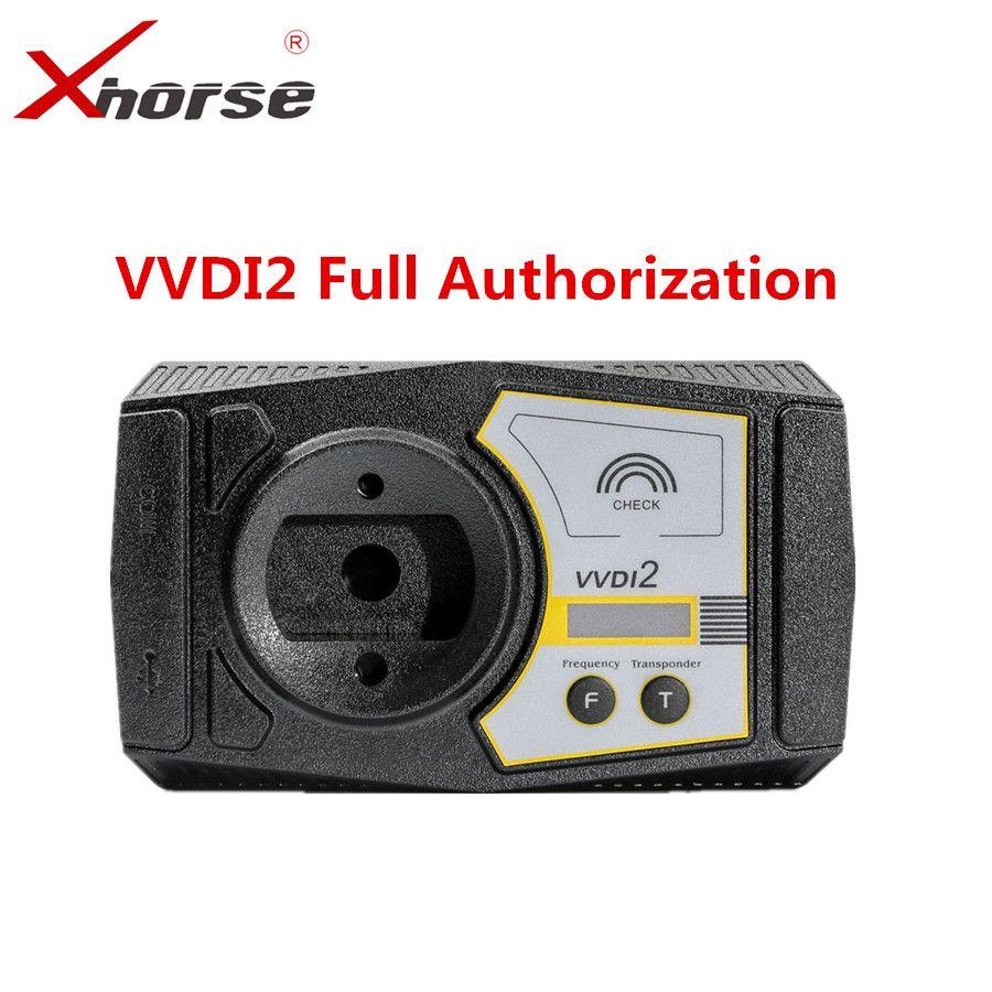 Xhorse VVDI2 Volle Version V5.8.0 Für V-W/Audi/BMW/Porsche/PSA Plus Für BMW FEM BDC ID48 96bit ID48 OBDII MQB Alle Genehmigung