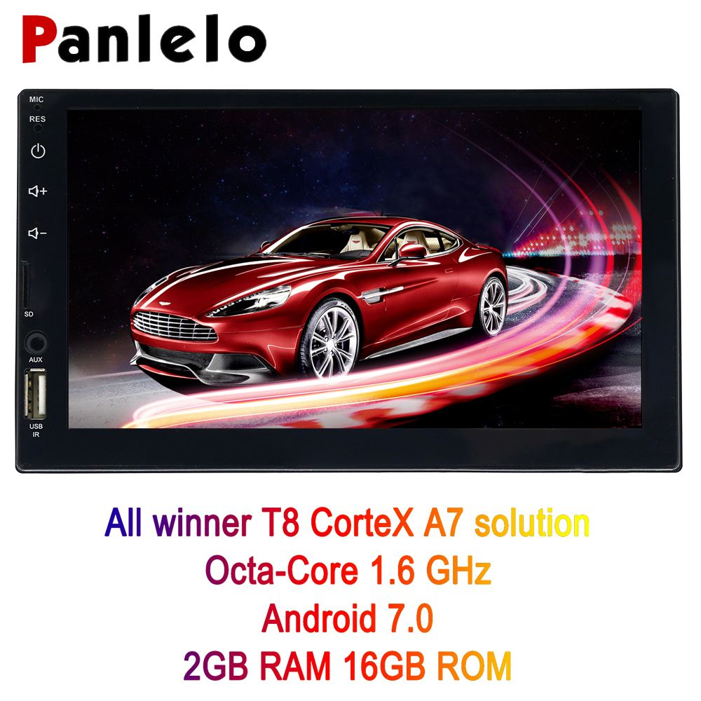 Panlelo S4 8 Kerne 2g + 16g 2 Din Android Auto Radio Doppel Din Android 7 7
