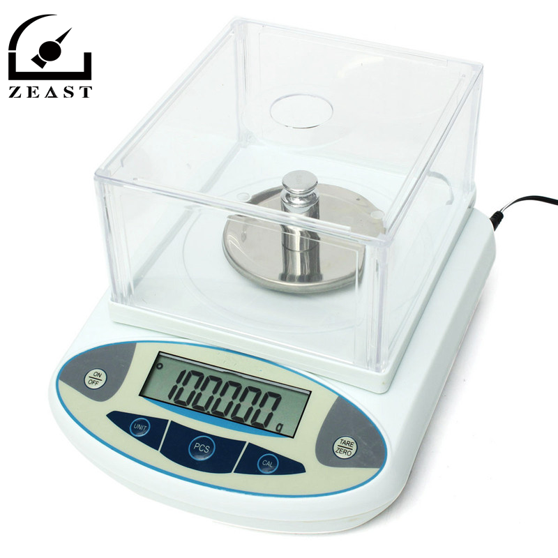 100 x 0.001g 1mg Digital Lab Analytical Balance Electronic Precision Scale New Arrival High Quality weight scale