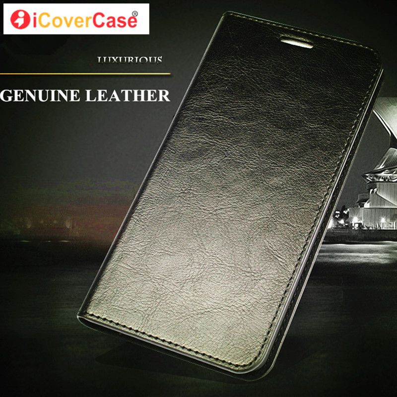 Luxury Genuine Leather Phone Case for Sony Xperia X XA XP Z3 Z5 Compact XZ Premium M4 Aqua Wallet Card Flip Stand Mobile Cover