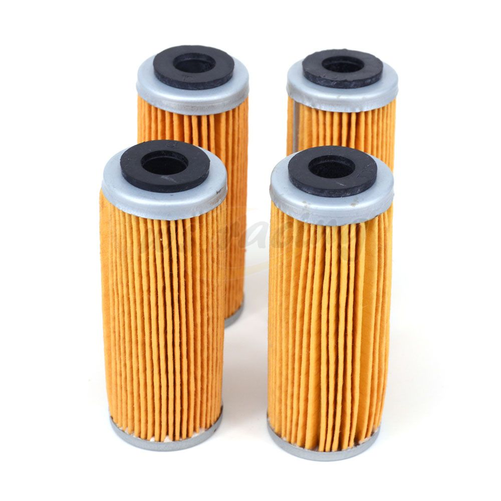 Motorcycle 4 X Oil Filter Cleaner For Husqvarna FE250 2014-2015 FC350 2015 FE350 14-15 Dirt Bike