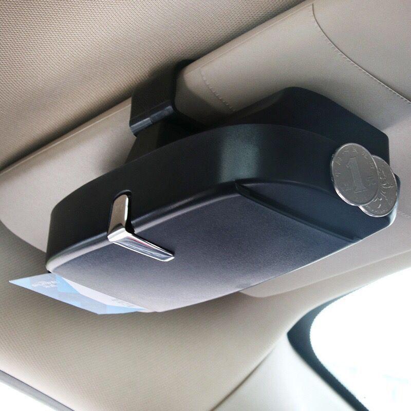 Car Sunglasses Case Holder Glasses Box Storage For Chevrolet Cruze Malibu Trax Lova Captiva Aveo