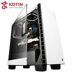 KOTIN S17 High END AMD Desktop AMD Ryzen 7 1800X GTX1080Ti 960EVO 250G SSD ROG CROSSHAIR VI HERO(C6H) 2*8G RAM RM650X 650W PSU