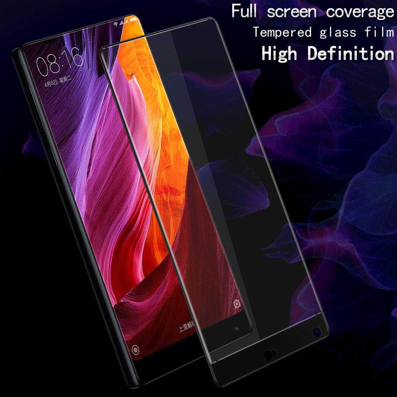 For Xiaomi MIX tempered glass film Original Imak Full screen protector For Xiaomi MI X full coverage Anti-crack explosion-proof