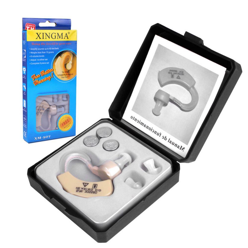 Prothèse Auditive XINGMA XM-907 Petites Prothèses Auditives pour les personnes âgées Meilleur Amplificateur de Voix Invisible Mini Pratique Derrière L'oreille