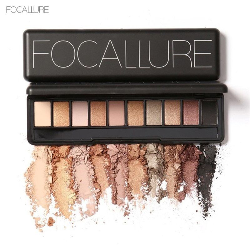 Focallure Brand Makeup Cosmetic Eye Shadow Palette Eyeshadow Glitter Pigment Nude Matte Waterproof Face Beauty Shimmer Color
