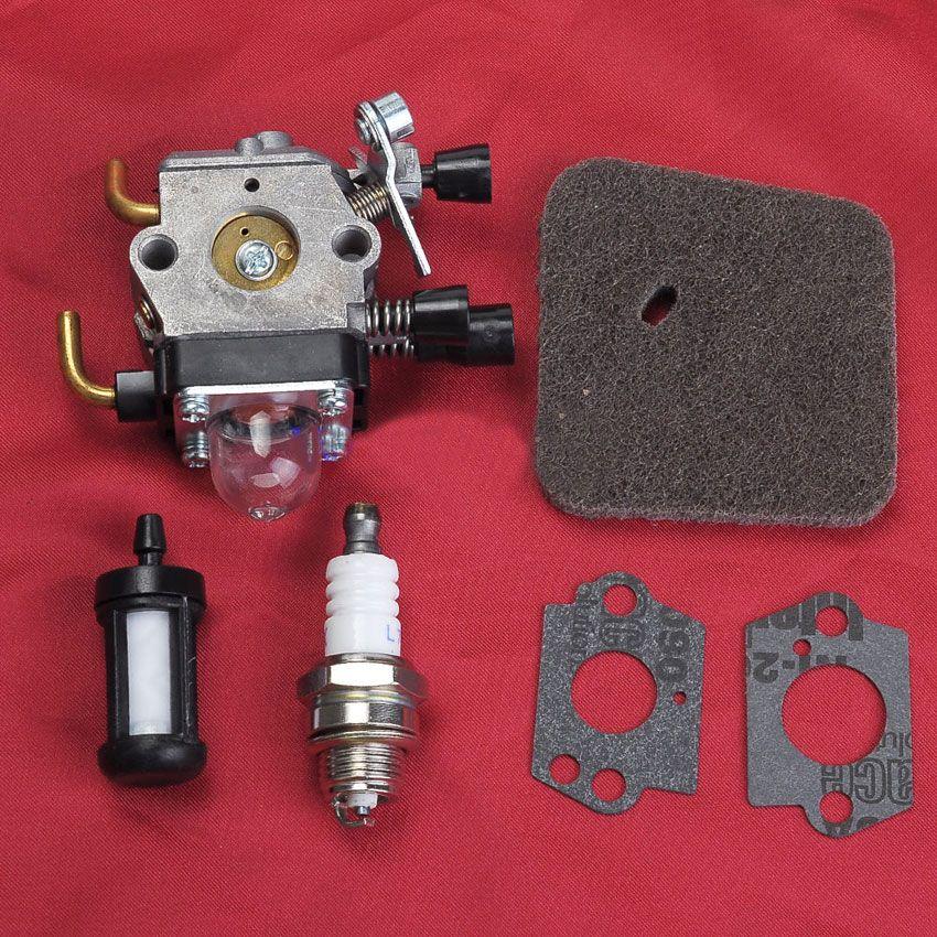Carburetor Carb Air Fuel Filter For STIHL FS38 FS45 FS55 FC55 FS74 FS75 FS76 FS80 FS85 KM80 ZAMA C1Q Series Trimmer Parts