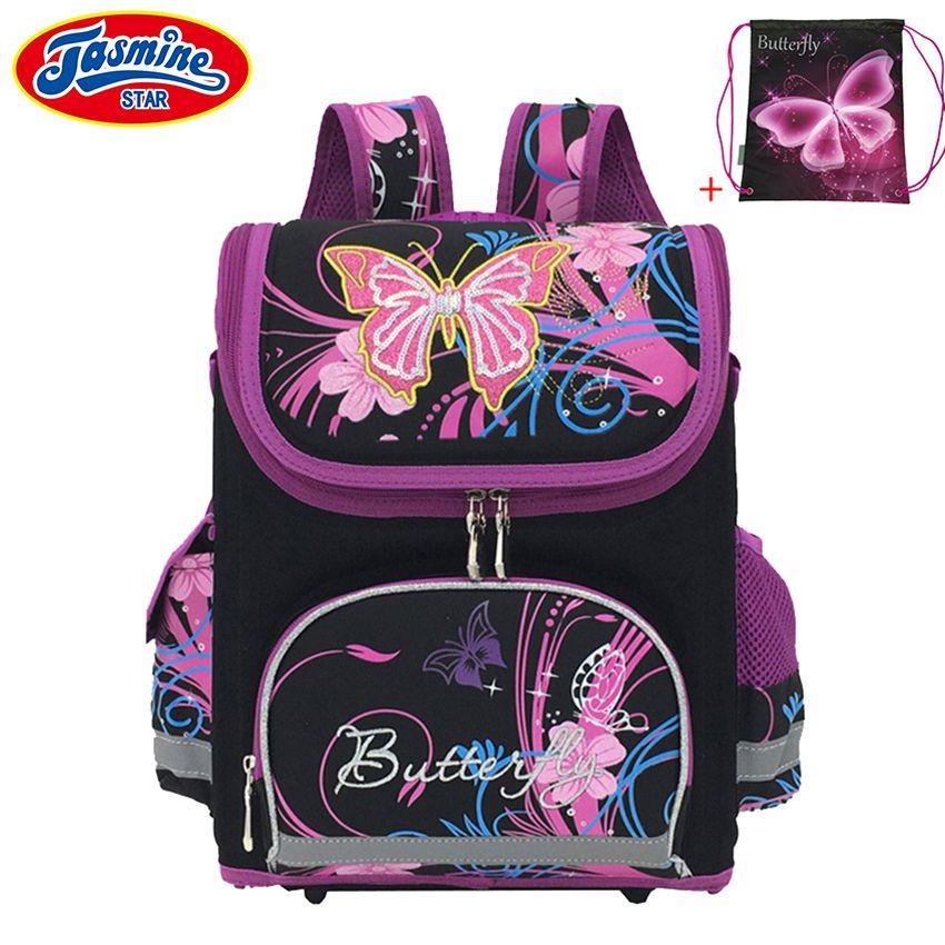 JASMINESTAR Children's Backpack Kids Cartoon School Bags For Boys Anime School Backpack For Girls Orthopedic Schoolbag