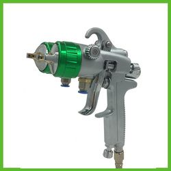 SAT1189 Profesional Double Nozzle Spray Gun untuk Mobil Lukisan Dinding Lukisan Perabotan Alat