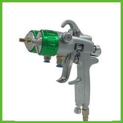 SAT1189 profesional nozzle ganda pistol semprot untuk mobil lukisan dinding lukisan furniture lukisan alat