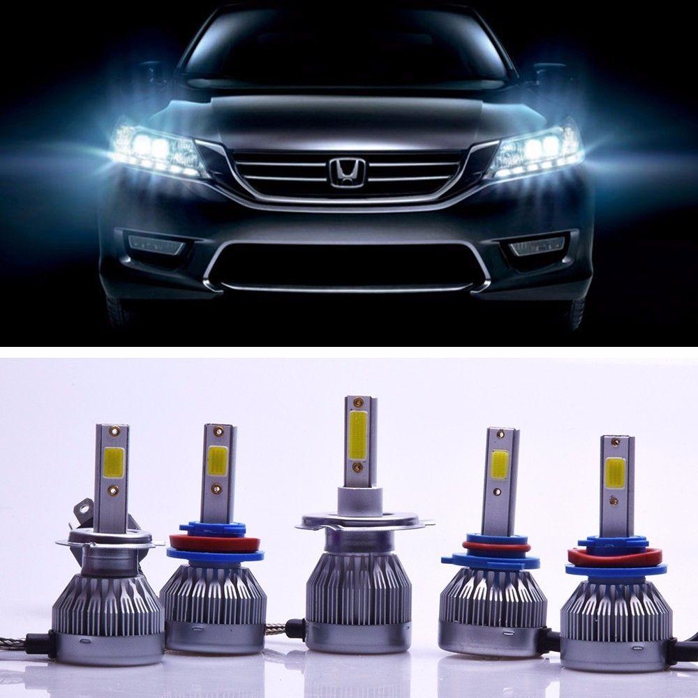 2X C1F6 Super Luminoso Del Faro LED 36 W 3600LM Anteriore Auto Lampadina Automobiles 6500 H4 H8 H11 H1 H7 9006 9005 LA Lampadina