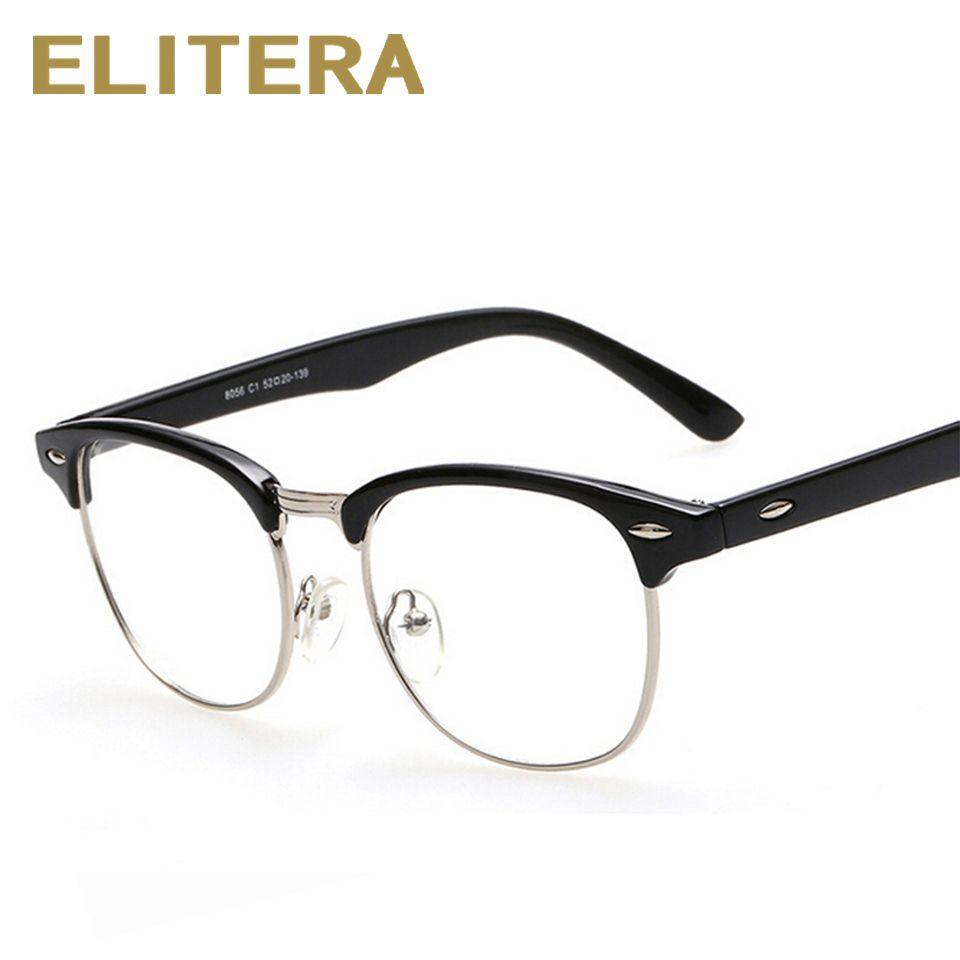 Marke Design Brillenfassungen brillen frames für Frauen Männer Männlich Brillen Spiegel Damen Brillen Sport Plain brillengestell