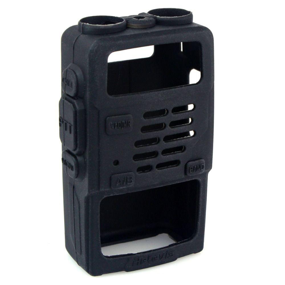 10 pcs En Caoutchouc Souple De Poche Case Étui pour Retevis RT5R BAOFENG UV-5R TF-UV985 TYT TH-F8 Talkie Walkie C9012A