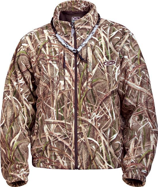 MST Windproof Fleece <font><b>Layering</b></font> Coat - CAMO DRAKE waterfowl systems