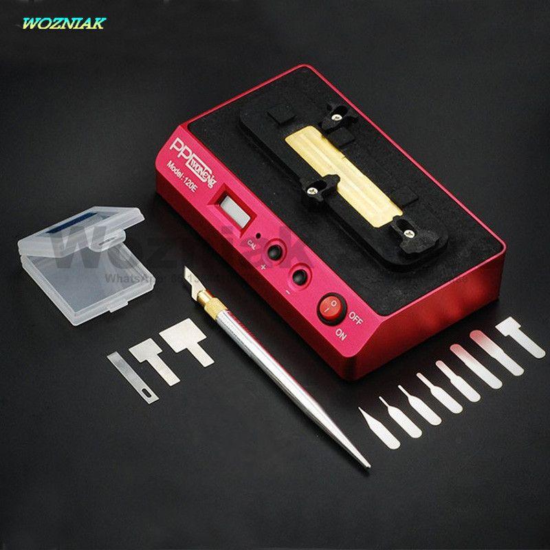 Wozniak PPD 120E Intelligente démolition de soudage plate-forme basse température démolition A8 A9 Puce CPU BGA pour iphone Carte Mère