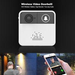 OLOEY WIFI Doorbell IP Video Intercom WI-FI Video Door Phone Door Bell Camera For Apartments Alarm Wireless Security Cameras